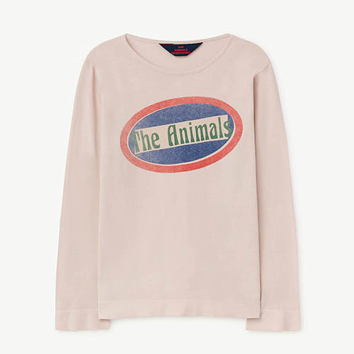 Eel Tshirt 973_168 (mauve animals)