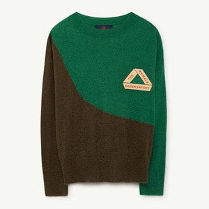 [2,4,6y]Bull Sweater (green triangle)