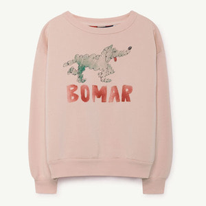 [3y]Bear Sweatshirt (rose green bomar)