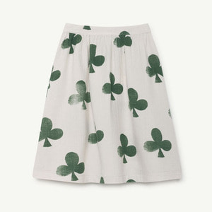 [2/3y]Sow Skirt (white clovers)