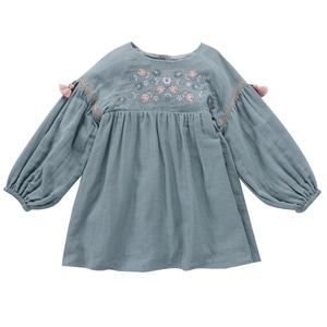 [10y]Dress Rozalia (silver cloud)