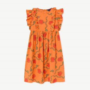 Otter Dress 1016_173 (orange apple)
