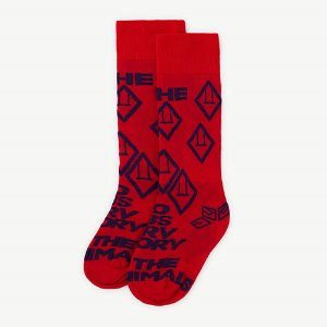 Hen Socks 1094_045 (red apple)