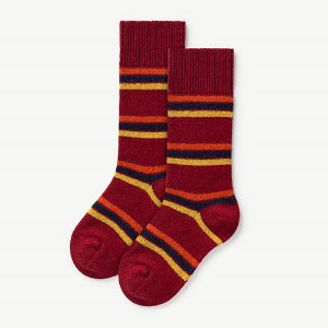 Snail Socks 1096_063 (deep red)