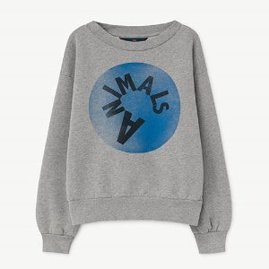 Bear Sweatshirt 991_185 (gray animal)