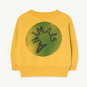 [12m]Bear Baby Sweatshirt 984_172 (yellow animal)