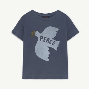 [2/4y]Rooster Tshirt 1425_161 (blue dove)