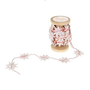 Glitter Star Garland Spool