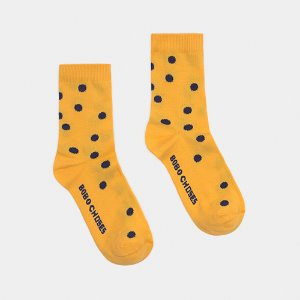 Short Socks Dots #1037