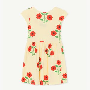 Butterfly Dress 1129_081 (yellow flowers)
