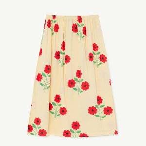 Ladybug Skirt 1132_081 (yellow flowers)