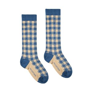 Vichy Socks (navy) #303
