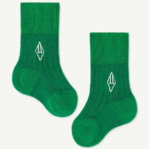 Skunk Baby Socks 1276_188 (green)