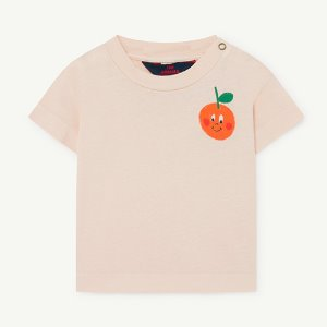 Rooster Baby Tshirt 1126_192 (red orange)