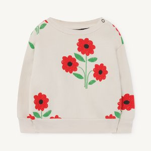 [12m]Bear Baby Sweatshirt 1140_009 (white flower)