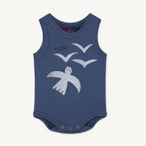 Turtle Baby Body 1229_161 (blue birds)