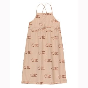 Dogs Crossback Dress #153