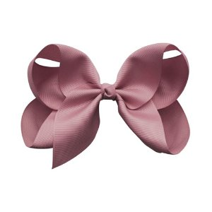 Jumbo Boutique Bow Rosy Mauve