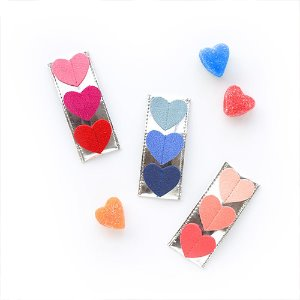 Triple Heart Clip (3colors)