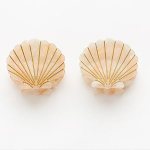 Ursula Shell Clip Pink (2 in set)