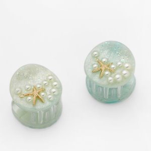 Ariel Clips Mint (2 in set)