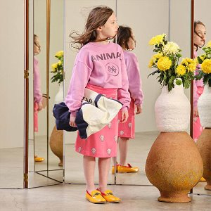 Bear Sweatshirt 1297_129 (pink animals)