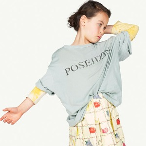 Rooster Oversized Tshirt soft green 21051_148_FB