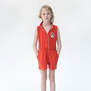 [2/3y]Tailor Romper Pipping #156