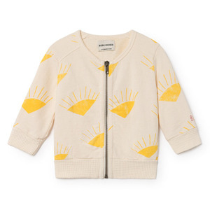 Baby Zipped Sweatshirt Sun #165