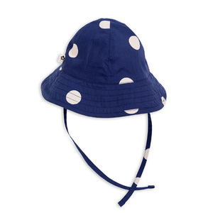 Dot Sun Hat (navy)